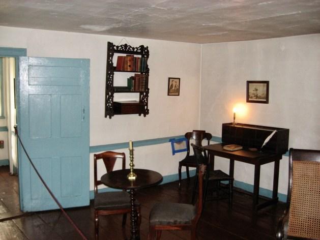 Poe cottage 1st floor sitting room