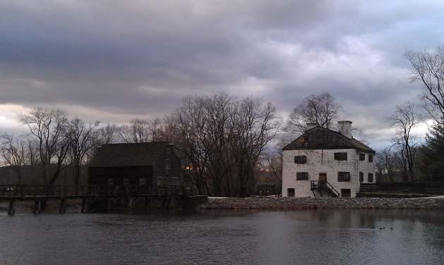 Mill and manorhouse