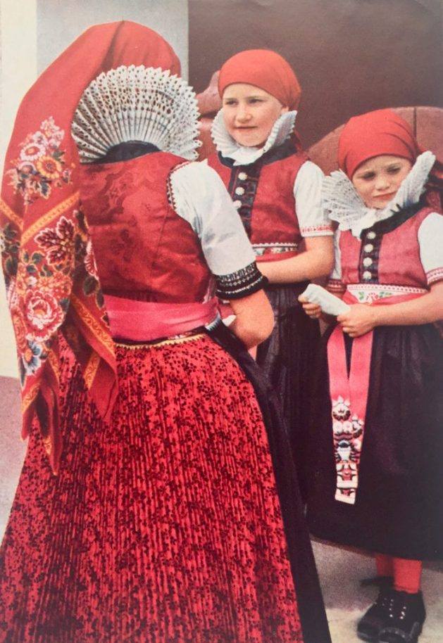 Czech Moravian girls