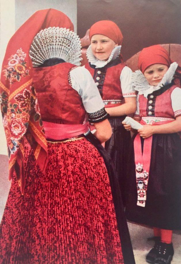 Czech Moravian girls