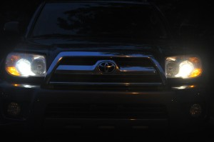 Blue vs Yellow Headlights