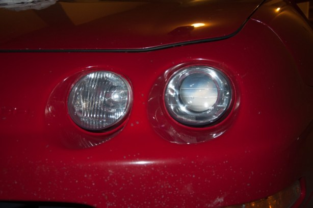 Refinished Headlight