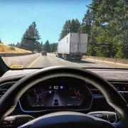 tesla driverless car technology