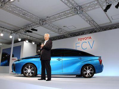 hydrogen energy car nissan