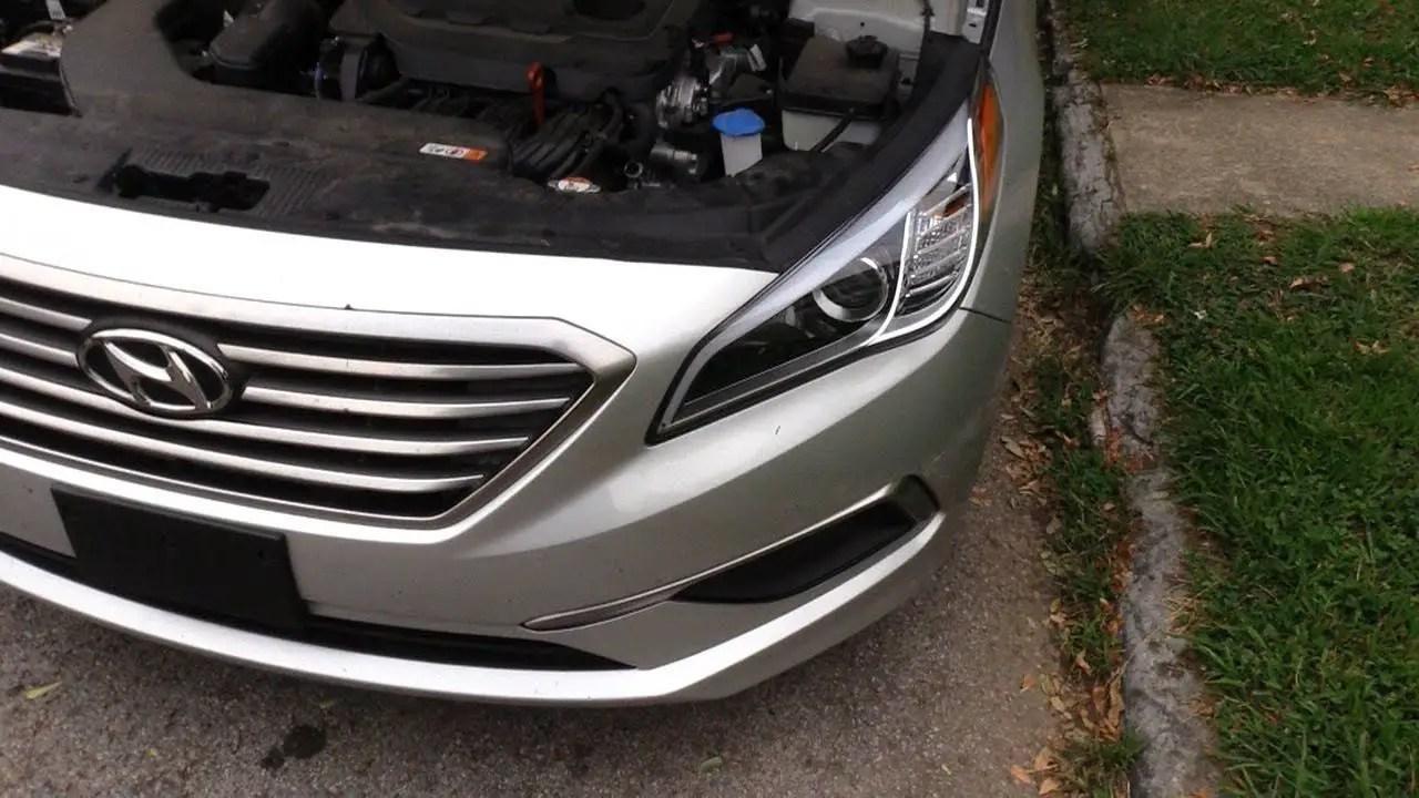 Hyundai Sonata Headlight Bulb Size Halogen Xenon Led