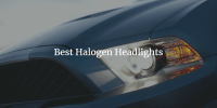 best halogen headlights guide