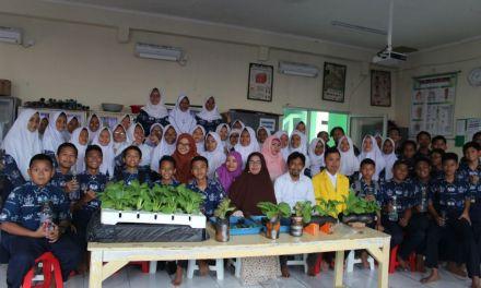 SMP Taruna Bhakti Depok Gelar Pelatihan Hidroponik Bermodalkan Seribu Rupiah