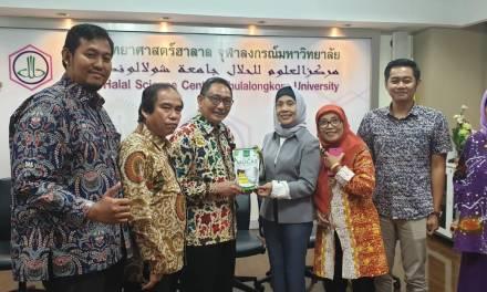 Headline Nasional | Kenalkan Produk Halal Sampingan, MPM PP Muhammadiyah Lawatan Ke Halal Science Center Thailand