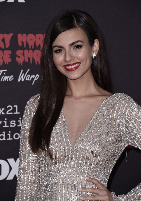 Victoria Justice Premiere Rocky Horror Picture Show