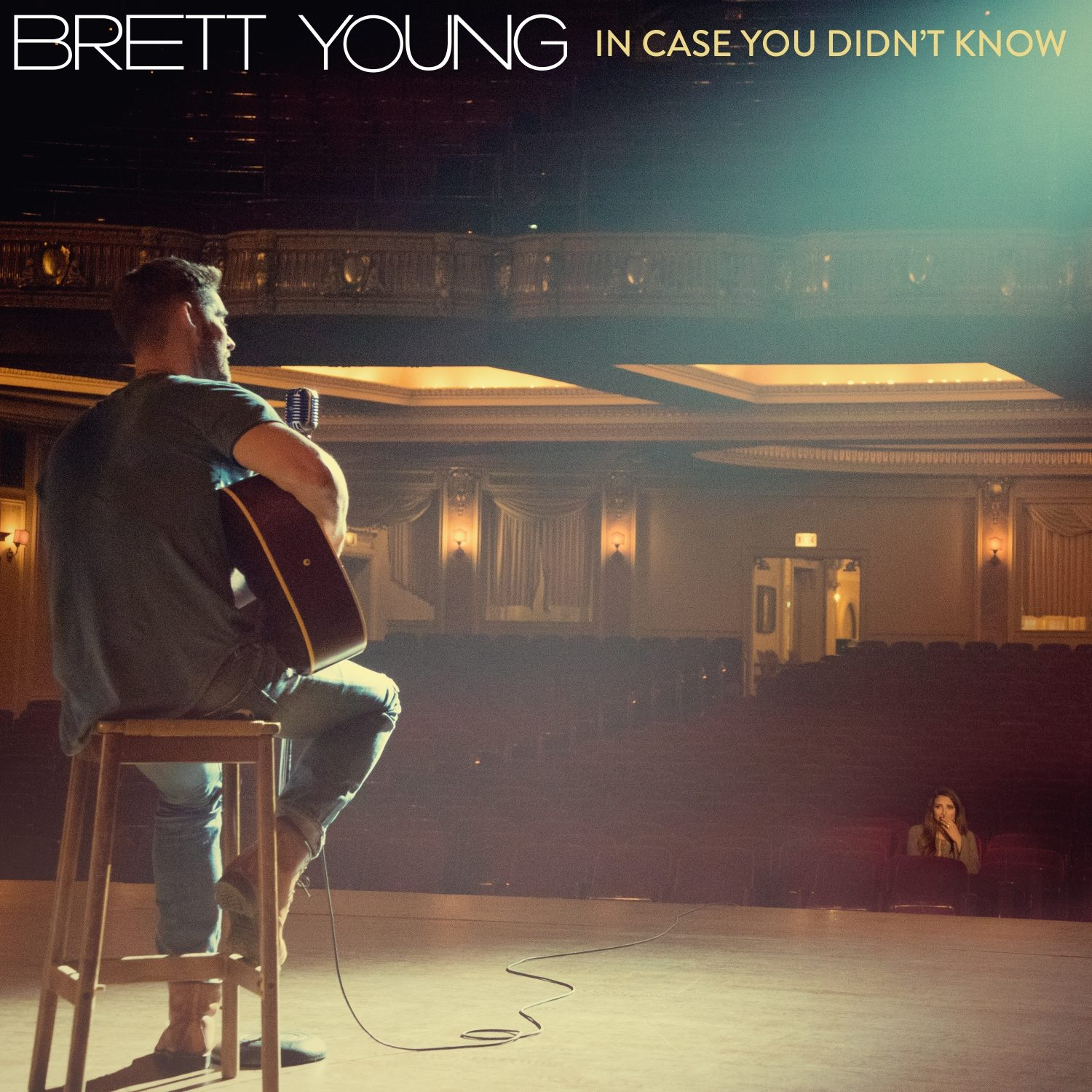 """Brett Young's """"in Case You Didn't Know"""" Reaches Top 40 On"""