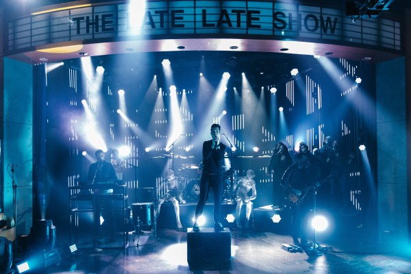 """Bastille Performs """"blame"""" """" Late Show With"""