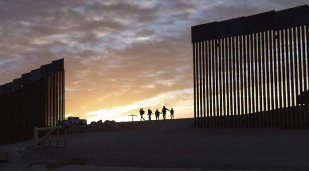 Border wall gap yuma