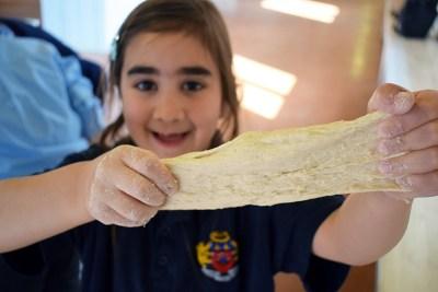 Happiness school dough happy pupil