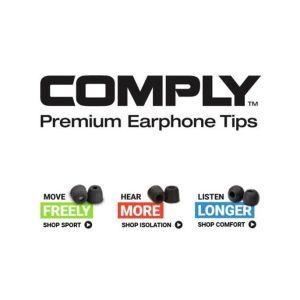 Comply headphones in-ear Foam Tips