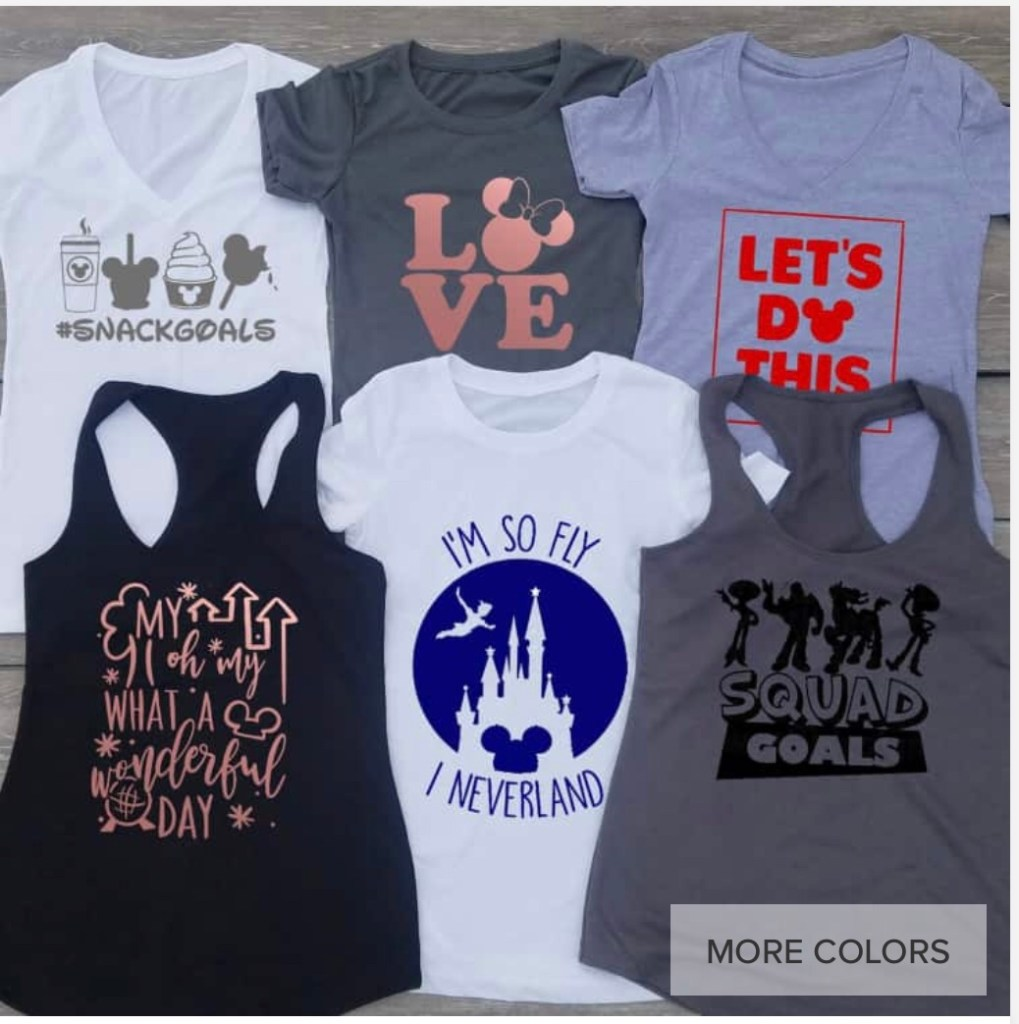 f060c1407 Click any picture below for Disney Tees. These deals don't last long, so  get them now!