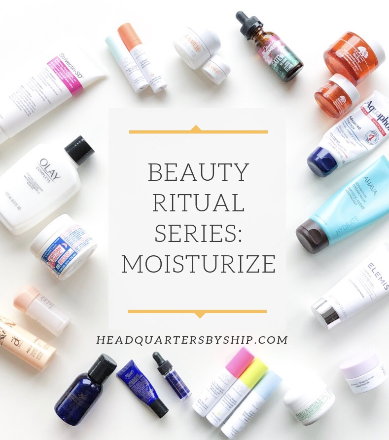 Beauty Rituals | Moisturize