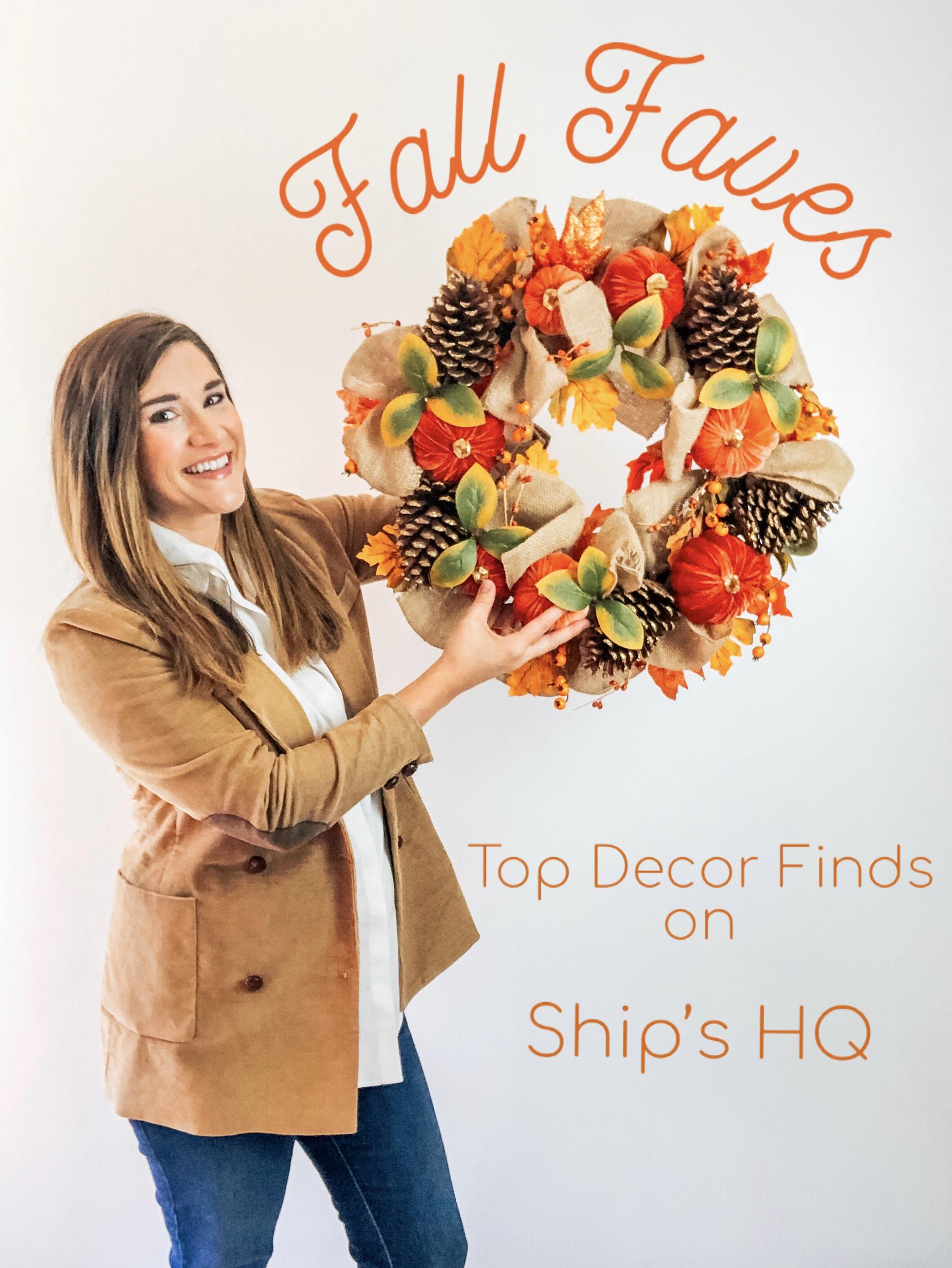 Fall Favorites | Festive Home Decor