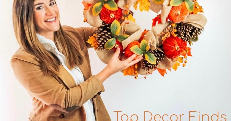 Fall Favorites   Festive Home Decor
