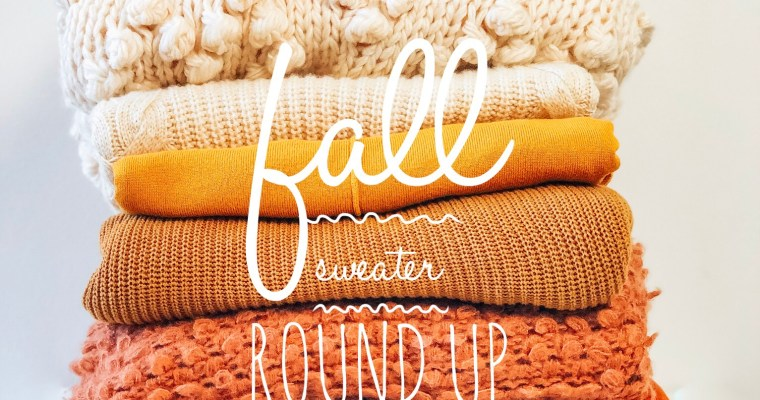 Fall Sweater Roundup | Five Flattering Sweaters for Mid Sized Women