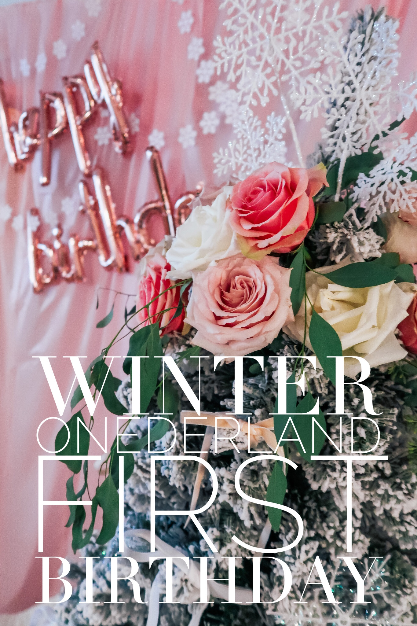 A Winter Onederland | First Birthday Party