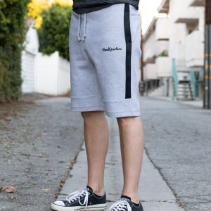 HeadQuarters Tech Fleece Sweat Shorts Grey/Black