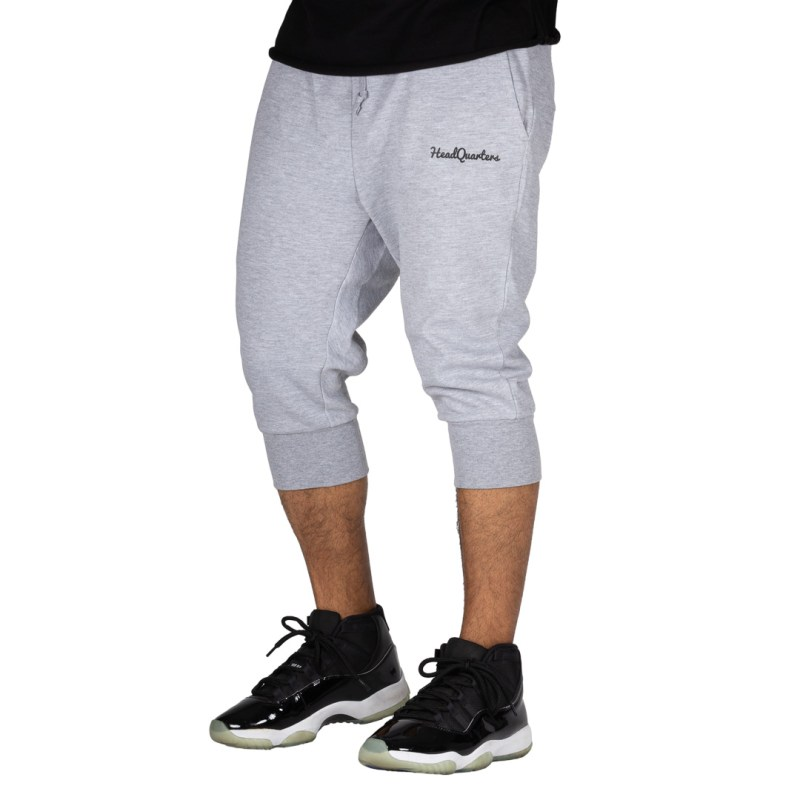 HeadQuarters Tech Fleece 3/4 Joggers Grey