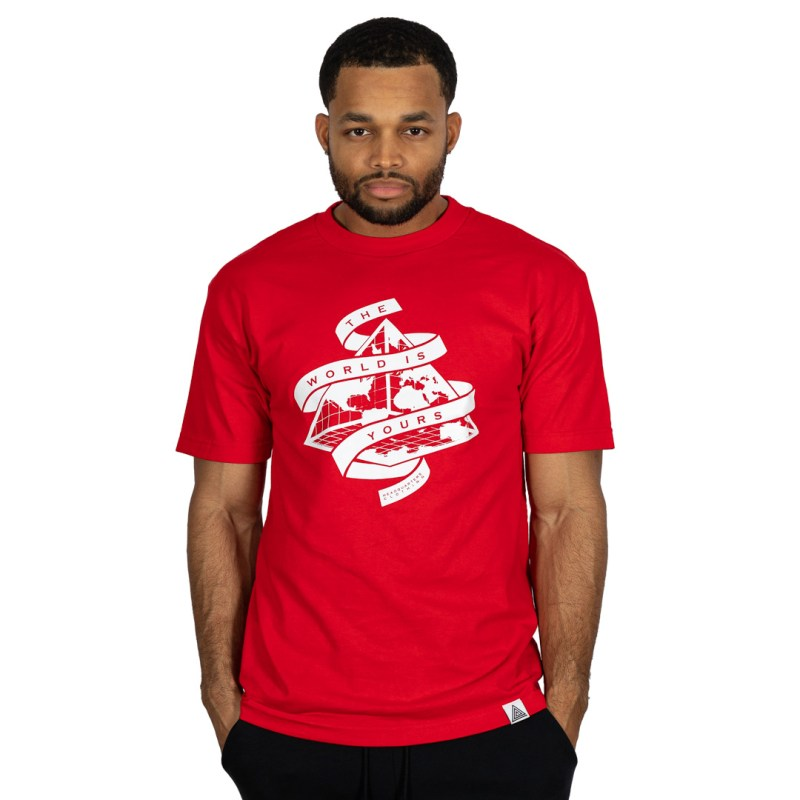 """""""The World is Yours"""" Tee Red"""