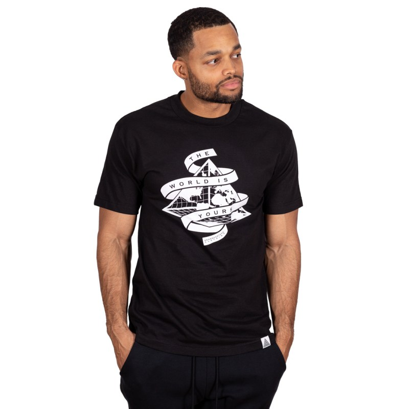 """""""The World is Yours"""" Tee Black"""