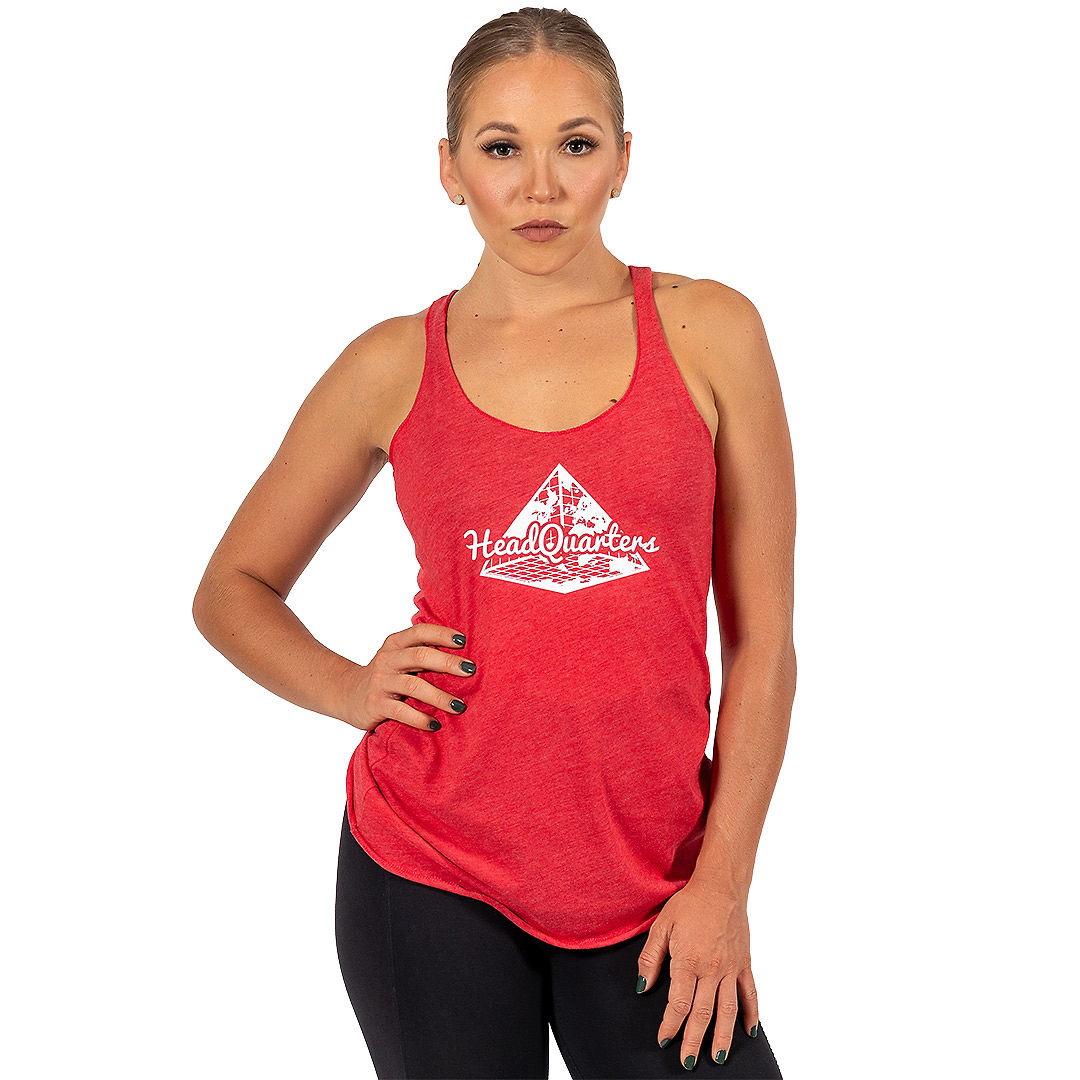WMNS HeadQuarters Tank Red