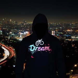 "Unisex ""Dream BIG"" Hoodie Black"