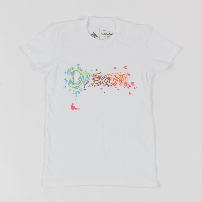 "WMNS ""Dream BIG"" Tee White"