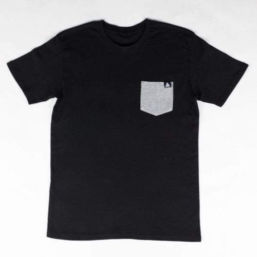 OG Triangle Pocket Tee Black/Grey