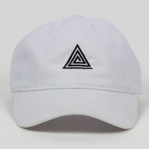 OG Triangle Dad Hat White