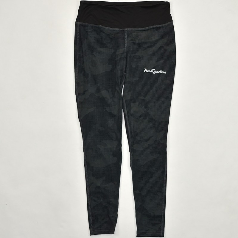 WMNS HeadQuarters Leggings Black Camo