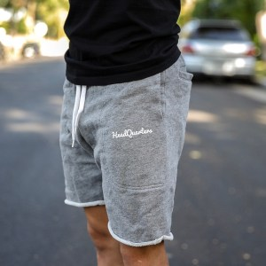 HeadQuarters Sweat Shorts Grey