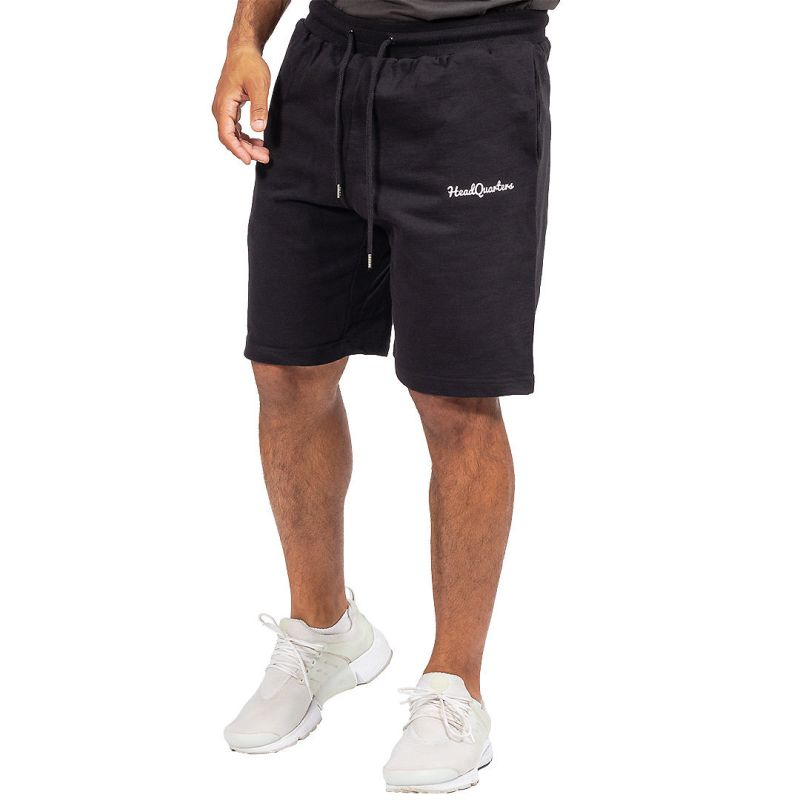 HeadQuarters French Terry Shorts Black