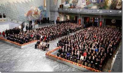 Award Ceremony in Oslo