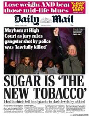 Sugar is the new tobacco