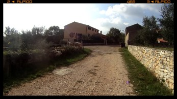 Ende des Schotters! / end of gravel road!