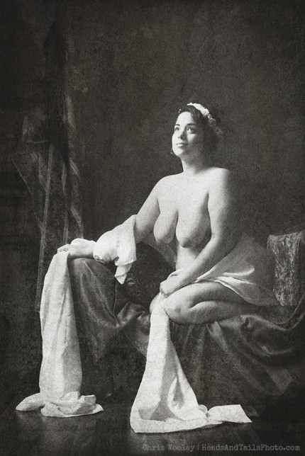 1850s Pin-Up model by Chris Wooley