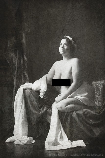 1850s History Of Pin-Up Censored