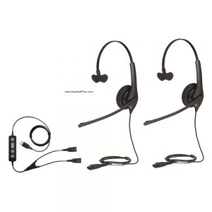 How to use a wireless and wired headset for training