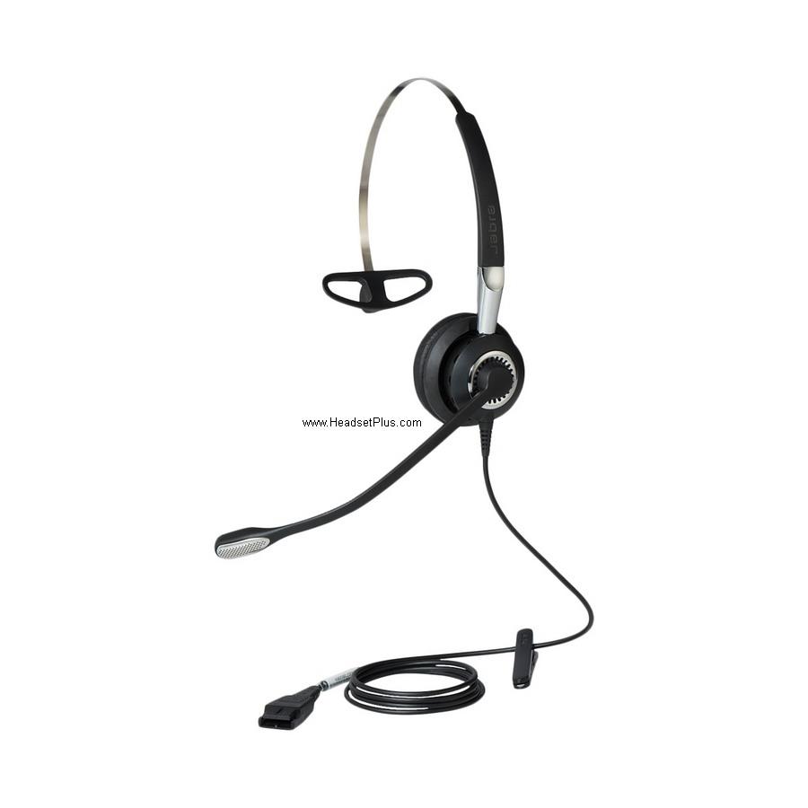 Jabra Biz 2400 II QD Mono Noise Canceling Headset