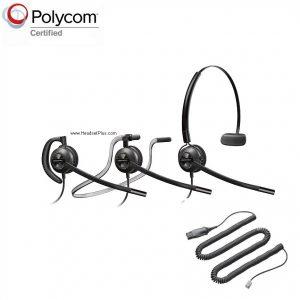 Compatible Headsets for Polycom VVX IP phones