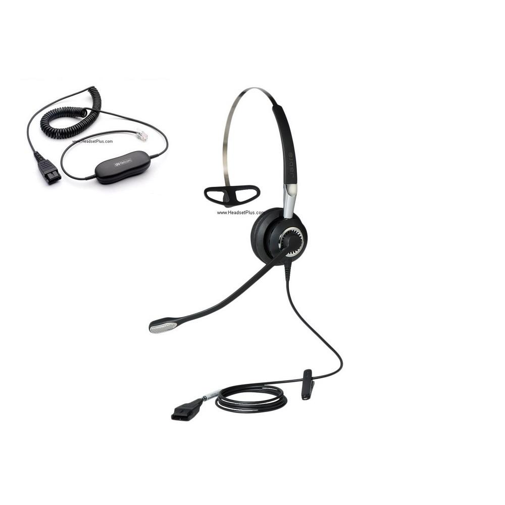 Jabra BIZ 2400 II Mono Direct Connect Noise Canceling NC
