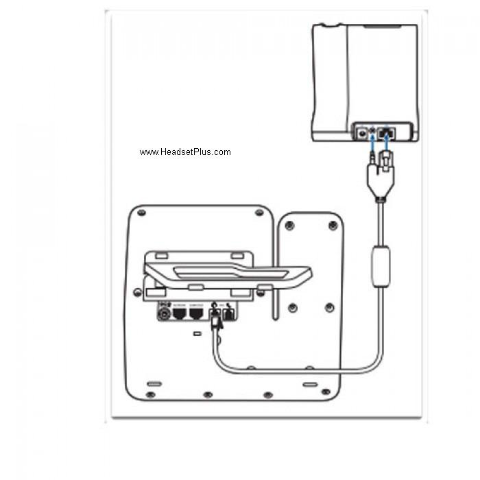 Plantronics APC-82 EHS Cable for Cisco 8941, 8945, 8945G