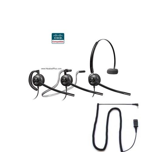 small resolution of plantronics hw540 spa cisco spa 303 5xx 9xx certified headset