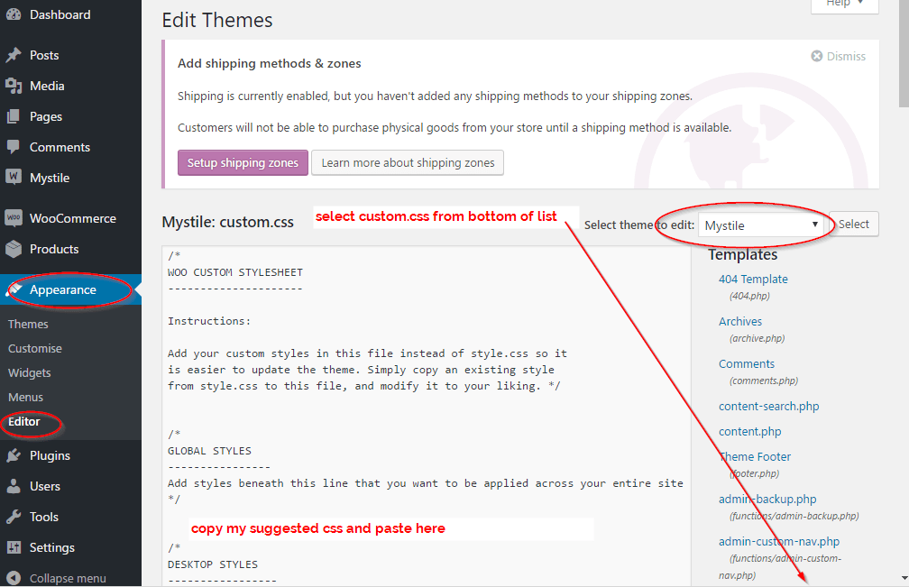 CSS to fix a Woocommerce Image Display Proble  | WordPress org
