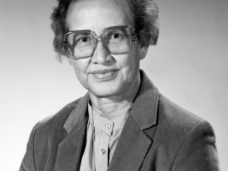 This is an image of Katherine Johnson.