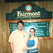 Age 28 - Get Engaged at Fairmont Hot Springs